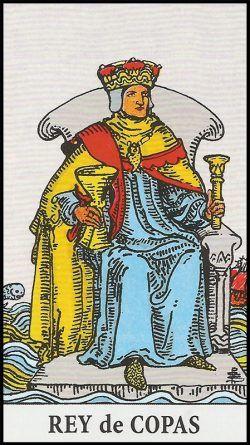 Resultado de imagen para tarot de rider waite rey de copas