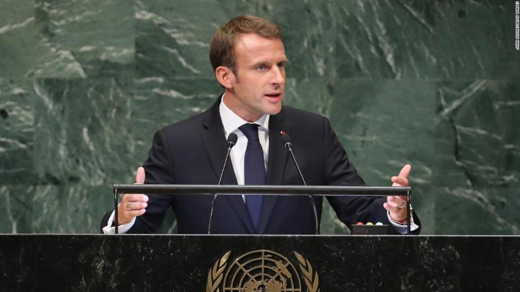 ¿Macron
