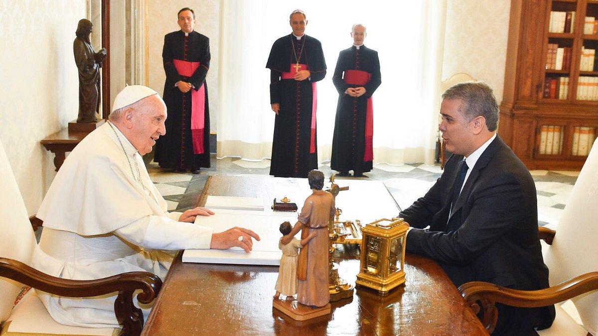 Tuvimos un muy grato encuentro con Su Santidad el Papa Francisco