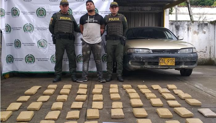 Llevaban 55 kilos de marihuana en El Pital - Opanoticias
