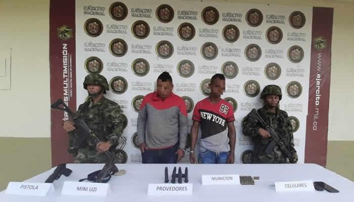 Capturados integrantes del Clan del Golfo sospechosos de degollar a dos personas en Caucasia