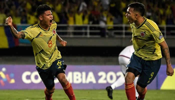 Colombia derrotó a Venezuela y quedó a un punto del cuadrangular final del Preolímpico